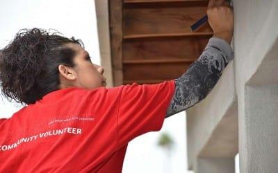 BofA Women Volunteer with HFHCAZ
