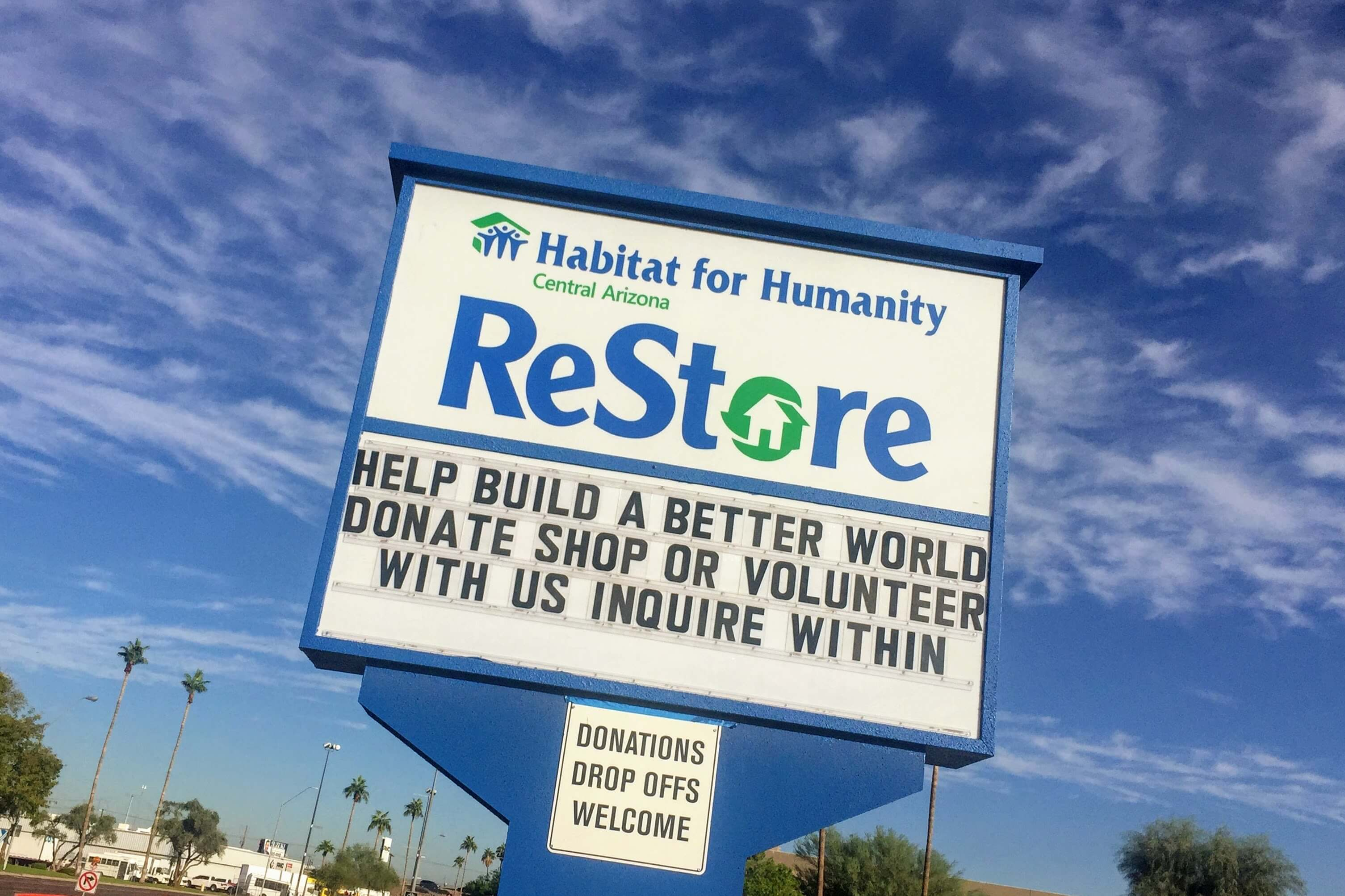 ReStore sign - Phoenix, Arizona