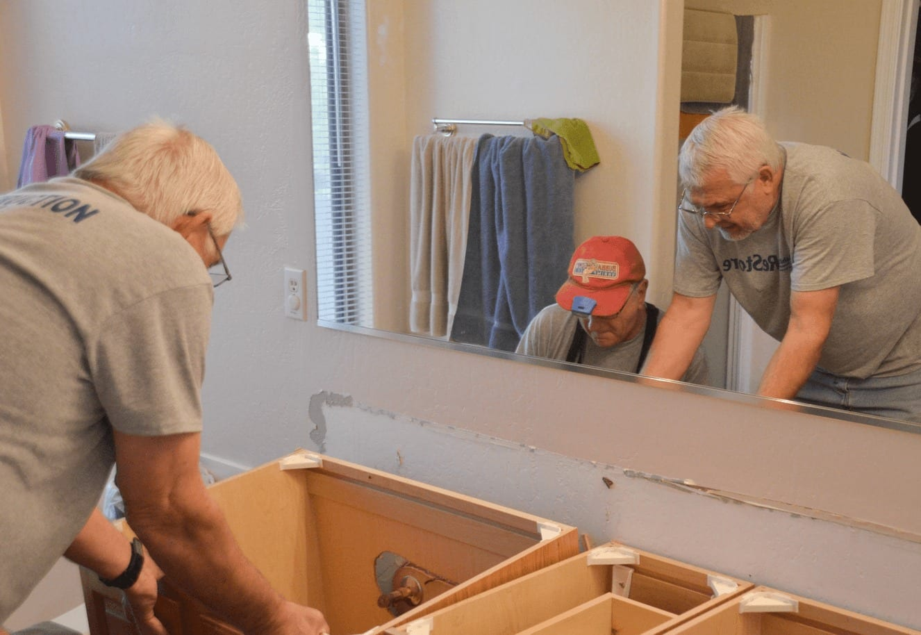 ReStore deconstruction services crew