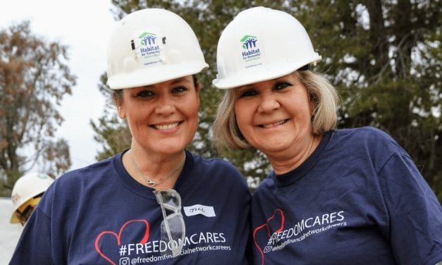 Freedom Financial Network helps Phoenix family build solid financial footing  as a Women Build sponsor